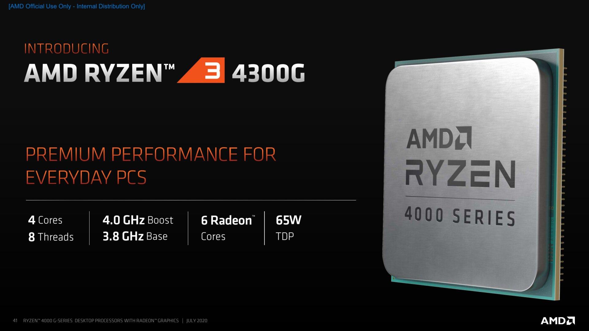 Ryzen 3 4300G