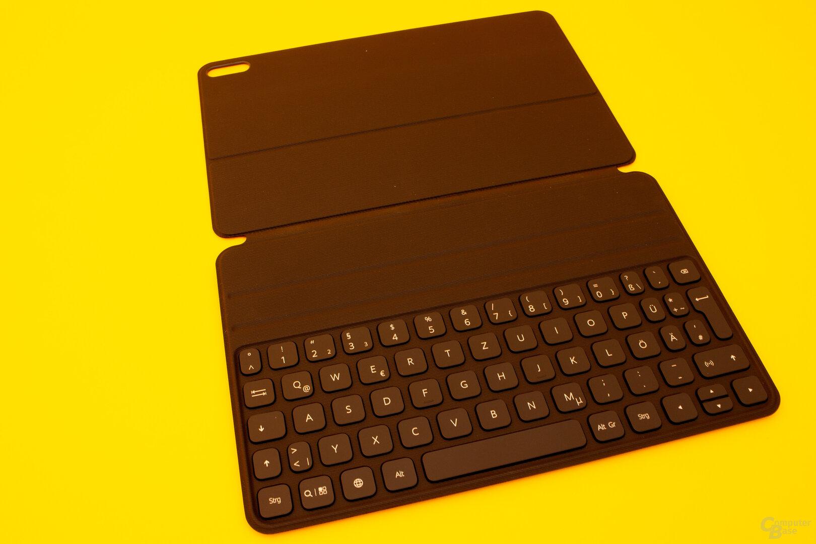 Die Tastatur des MatePad Pro