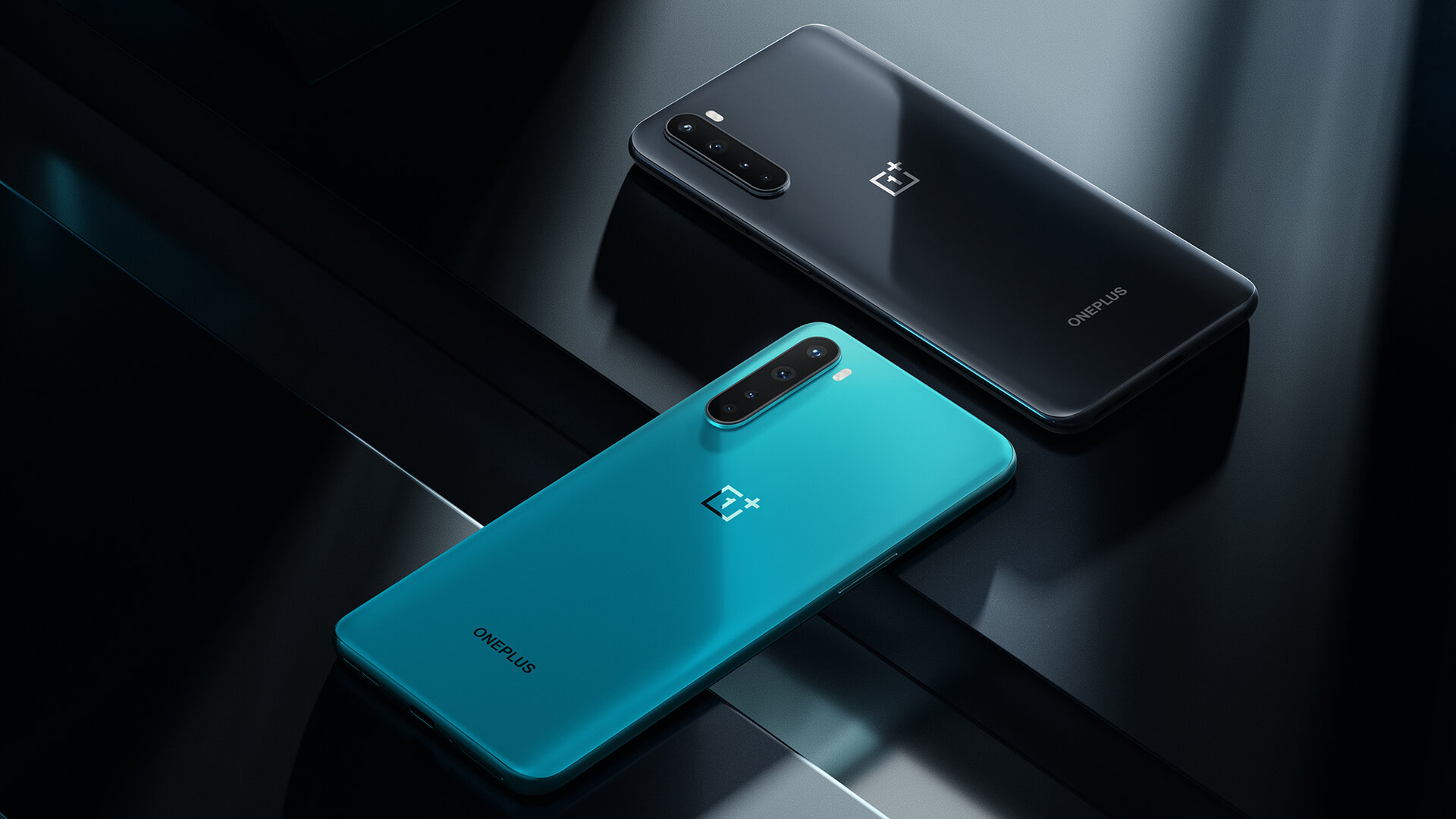 OnePlus Nord in Blue Marble und Gray Onyx
