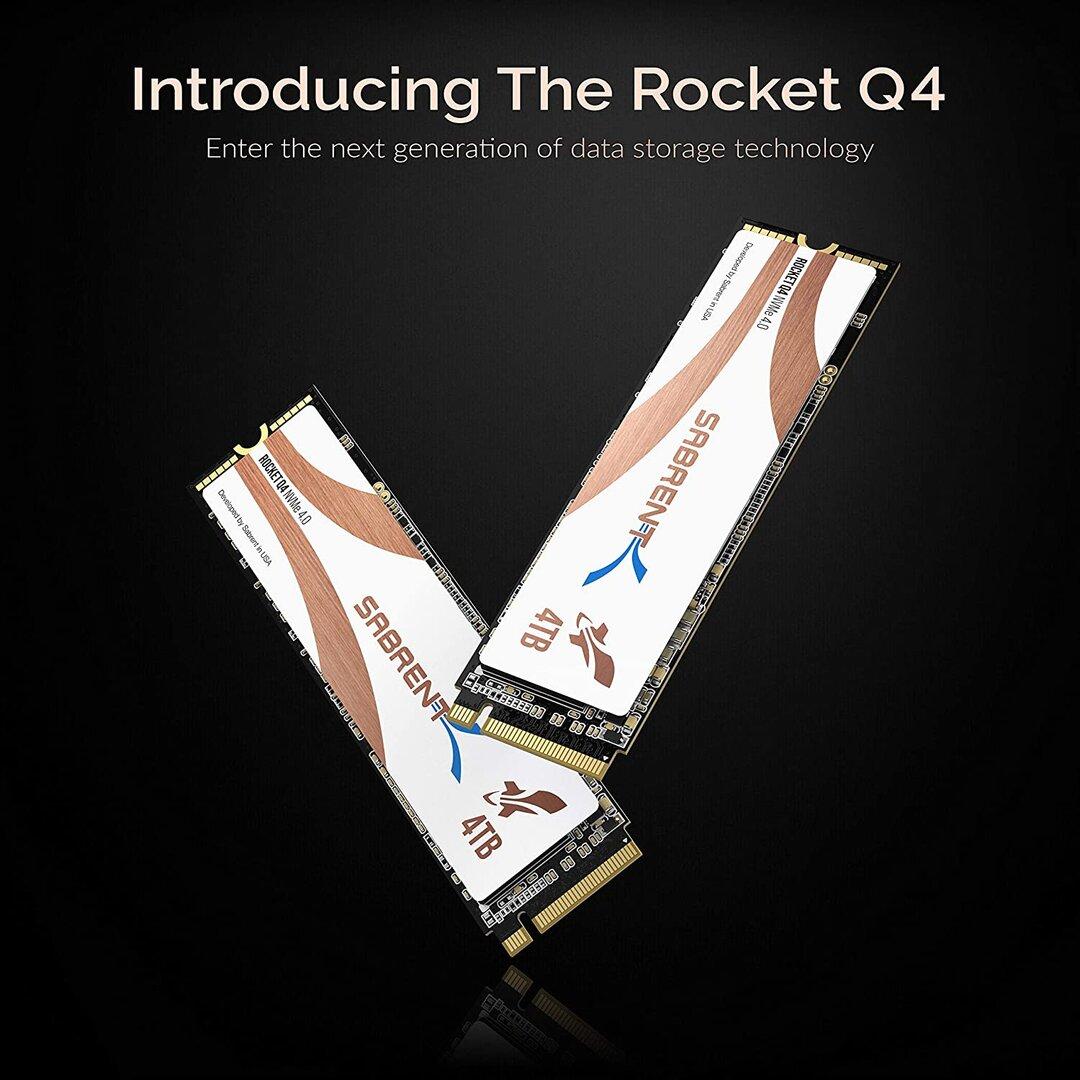 Sabrent Rocket Q4 NVMe SSD
