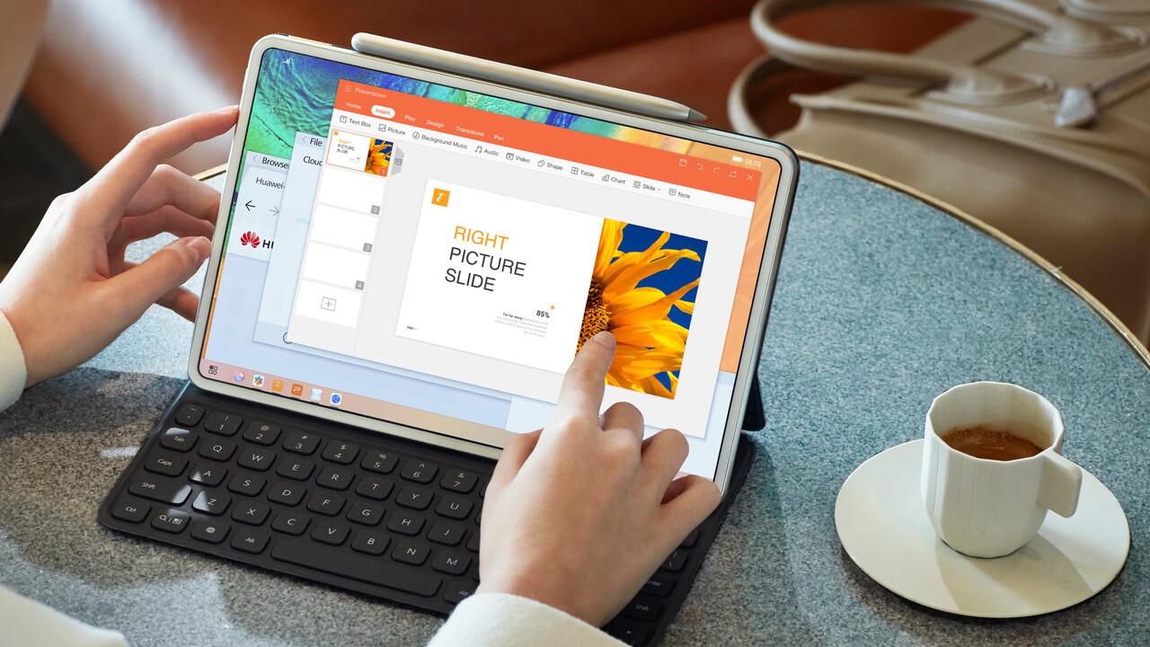 MatePad Pro: Huawei bringt Tablet mit viel Zubehör nach Deutschland
