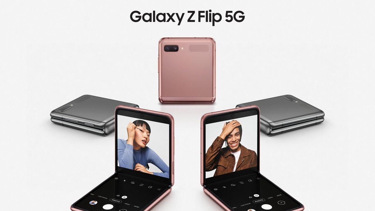 Galaxy Z Flip 5G: Samsung schärft sein faltbares Smartphone nach