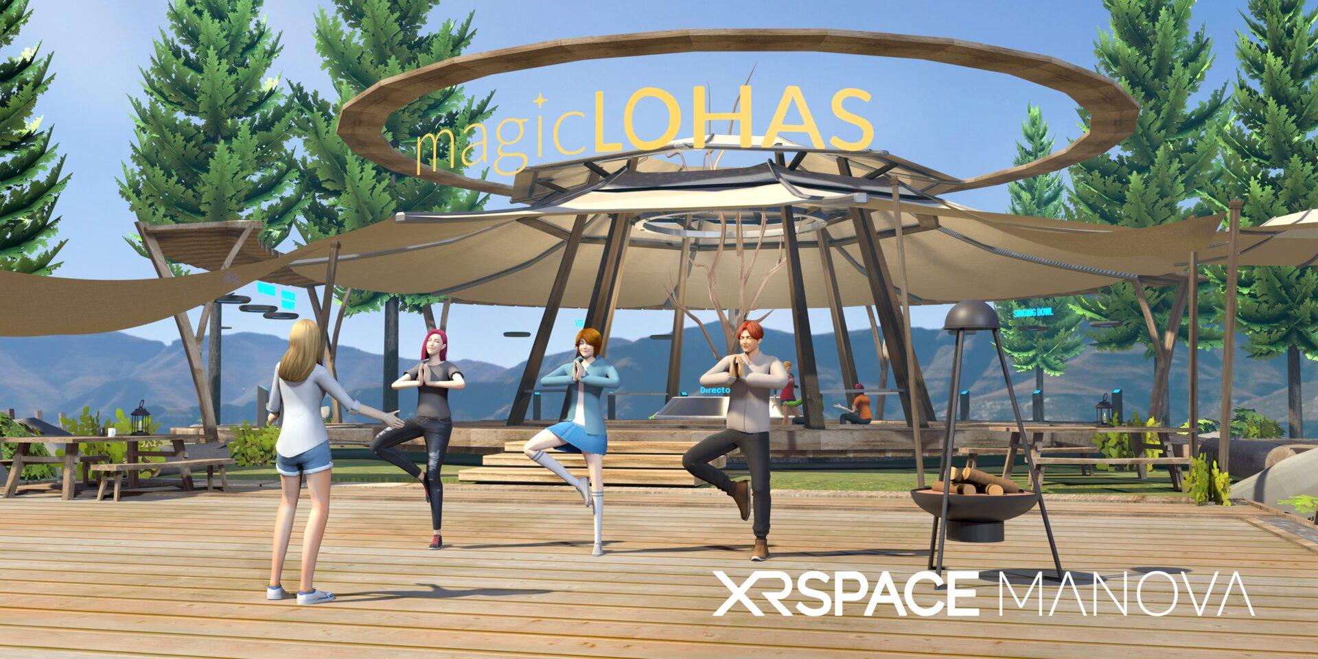 Yoga und Meditation in VR