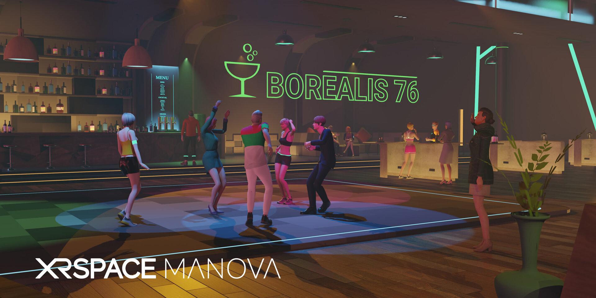 Gemeinsames Tanzen im Club