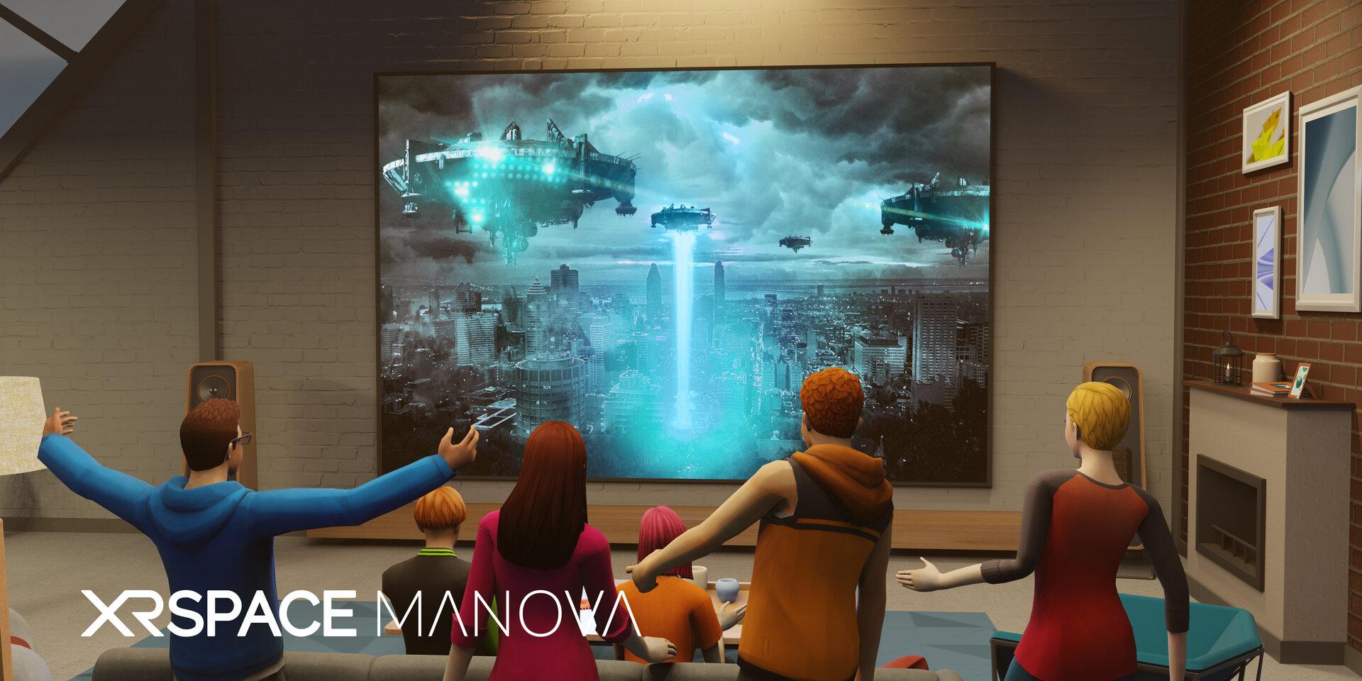 Kinoabend mit Freunden in VR