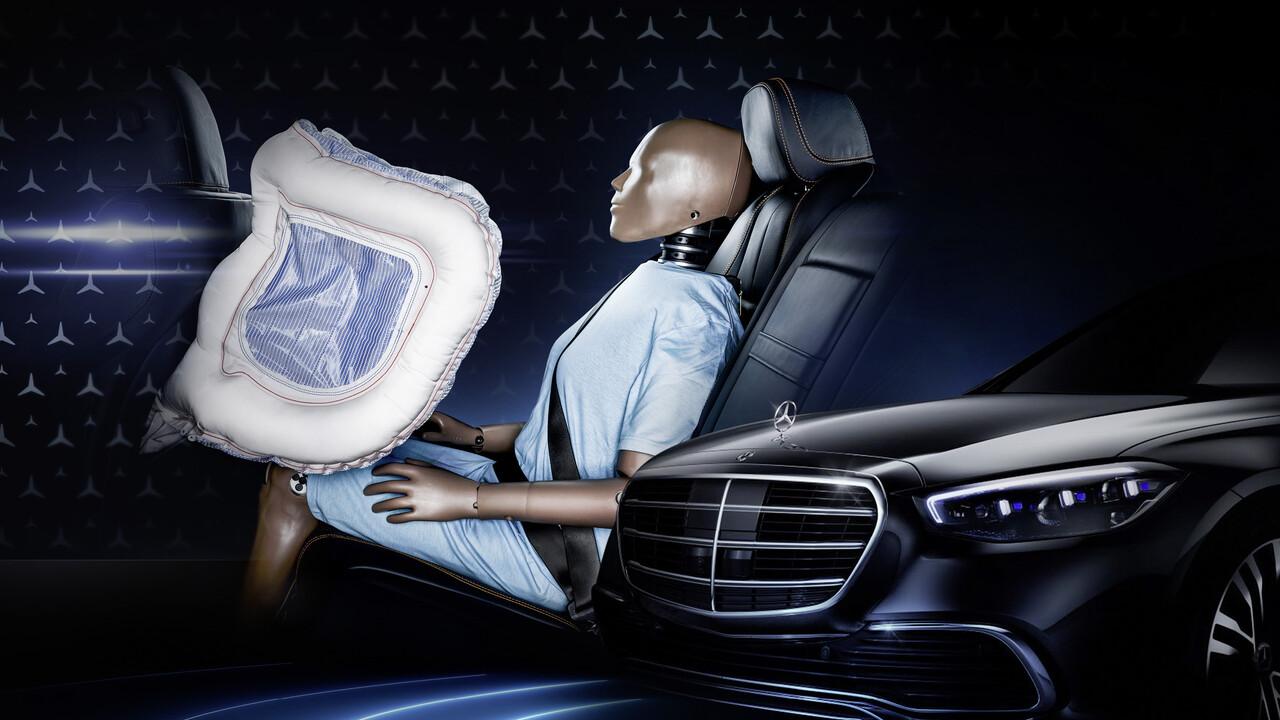 Mercedes-Benz: Neue S-Klasse hat frontale Airbags im Fond