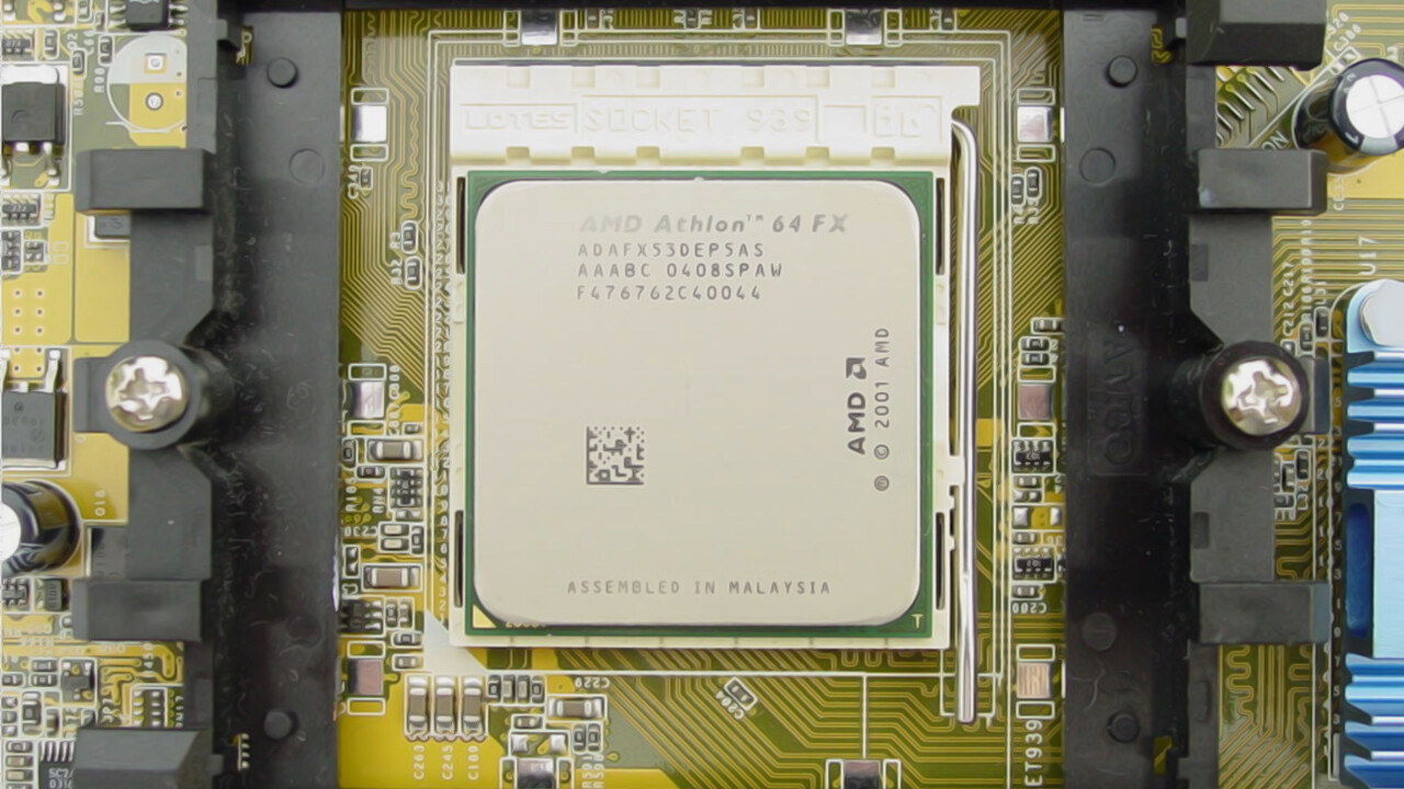 """C:\B_retro\Ausgabe_40\: Athlon 64 FX-60 und Pentium XE 955 waren """"extreme"""" CPUs"""