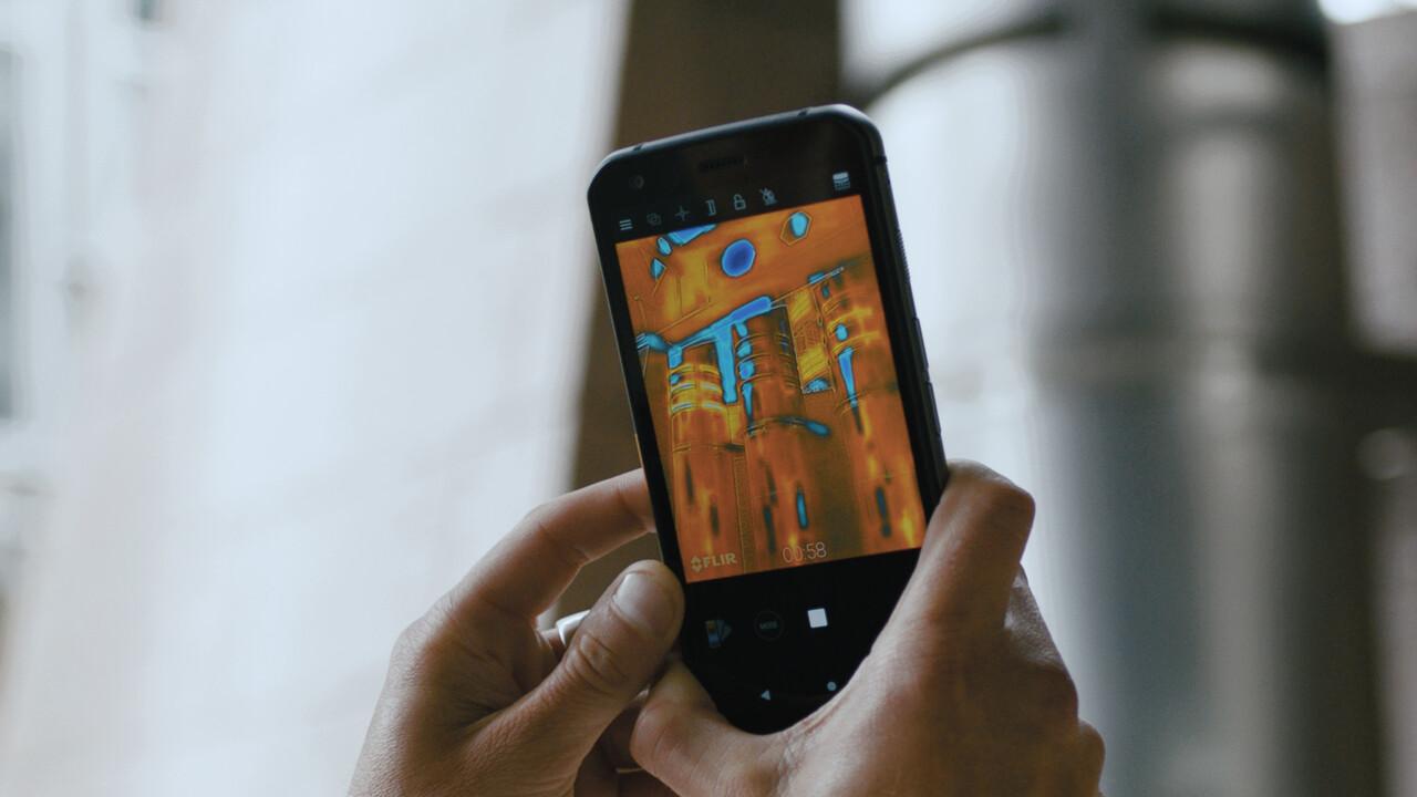 Cat S62 Pro: Wärmebild-Smartphone misst bis 400 Grad für 650 Euro