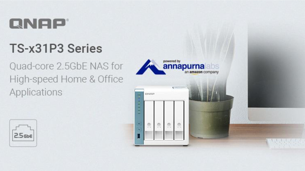 QNAP TS-x31P3: Erneutes NAS-Update bringt 2,5-Gigabit-LAN