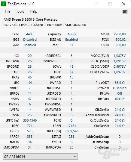 4400CL20-XMP-Profil