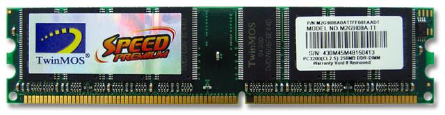 Speed Premium DDR400 von TwinMOS