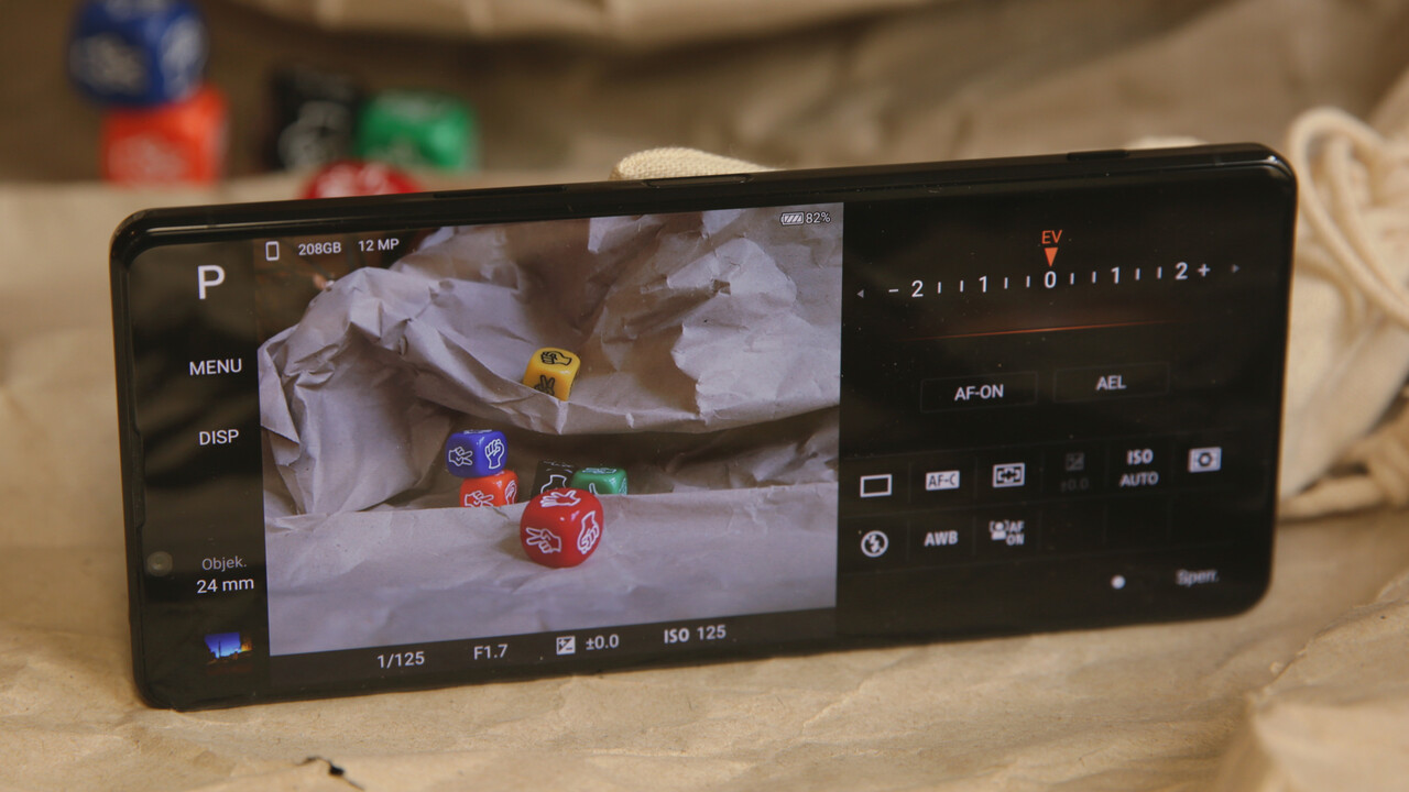 Sony Xperia 1 II: Update für RAW-Fotos wird in Europa verteilt