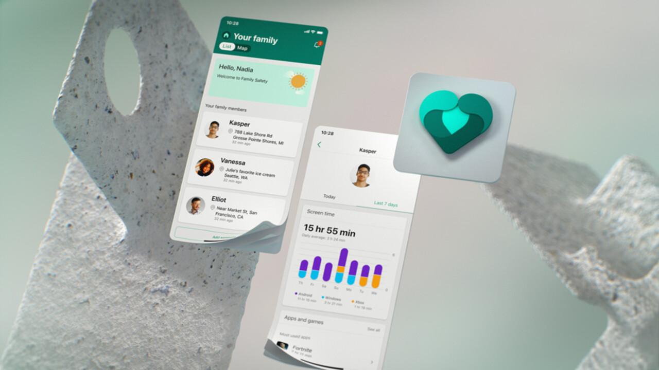 Microsoft Family Safety: Sicherheits-App für Android und iOS freigegeben