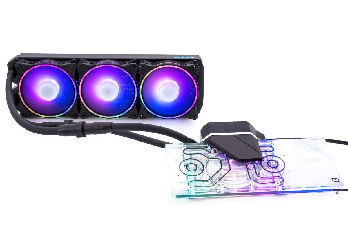 Alphacool Eiswolf 2 AIO 360 für AMD Radeon RX 6900 XT, 6800 XT und 6800