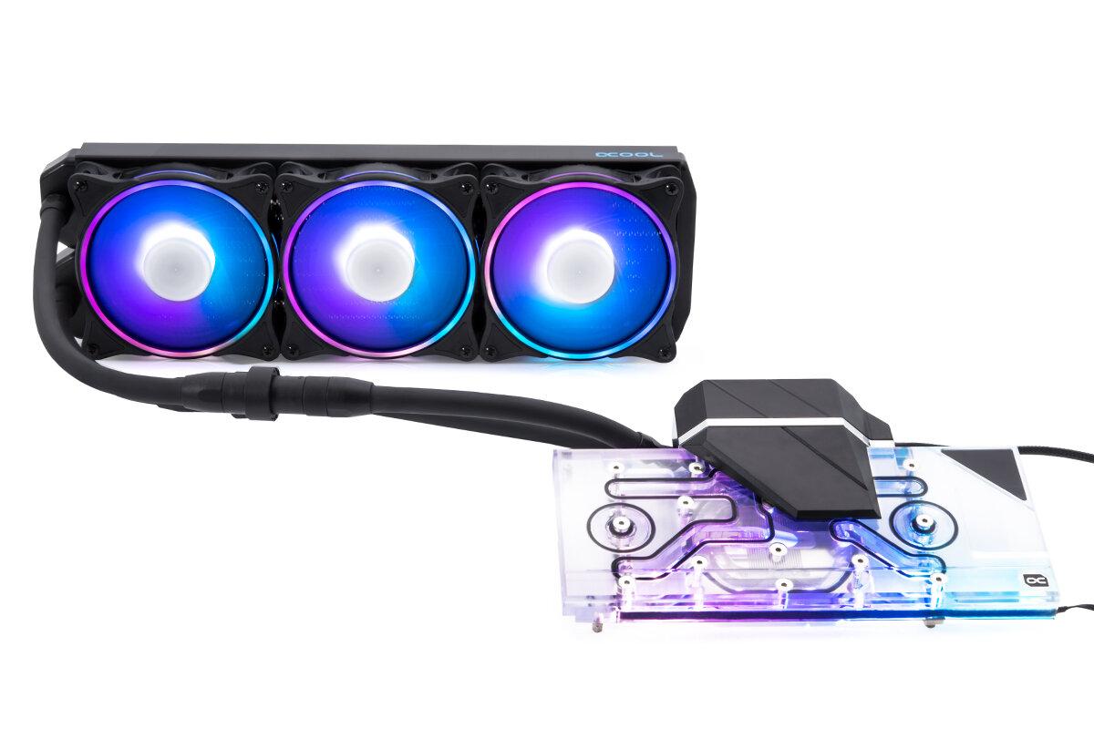 Alphacool Eiswolf 2 AIO 360 für Nvidia GeForce RTX 3090 & 3080