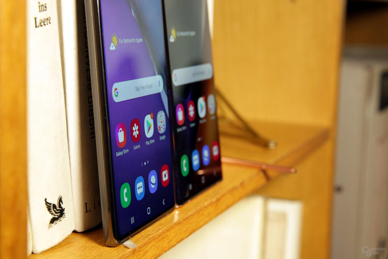 Planes Display für das kleinere Galaxy Note 20
