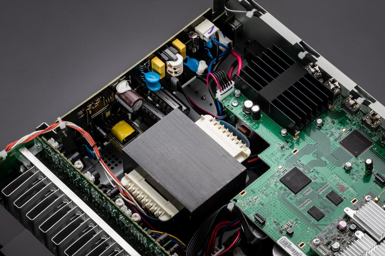 Marantz NR1711 – Transformator und SMPS