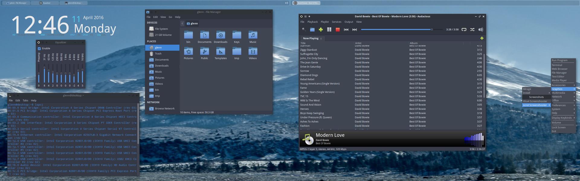"""BunsenLabs Linux (""""Lithium"""") mit Openbox 3.6.1 ist stark anpassbar"""