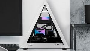 Gehäuse in Pyramidenform: Azza schrumpft das Pyramid auf Mini-ITX-Format