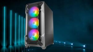Antec Dark League DF600 Flux: Kühlkonzept lässt einen Lüfter auf die GPU blasen