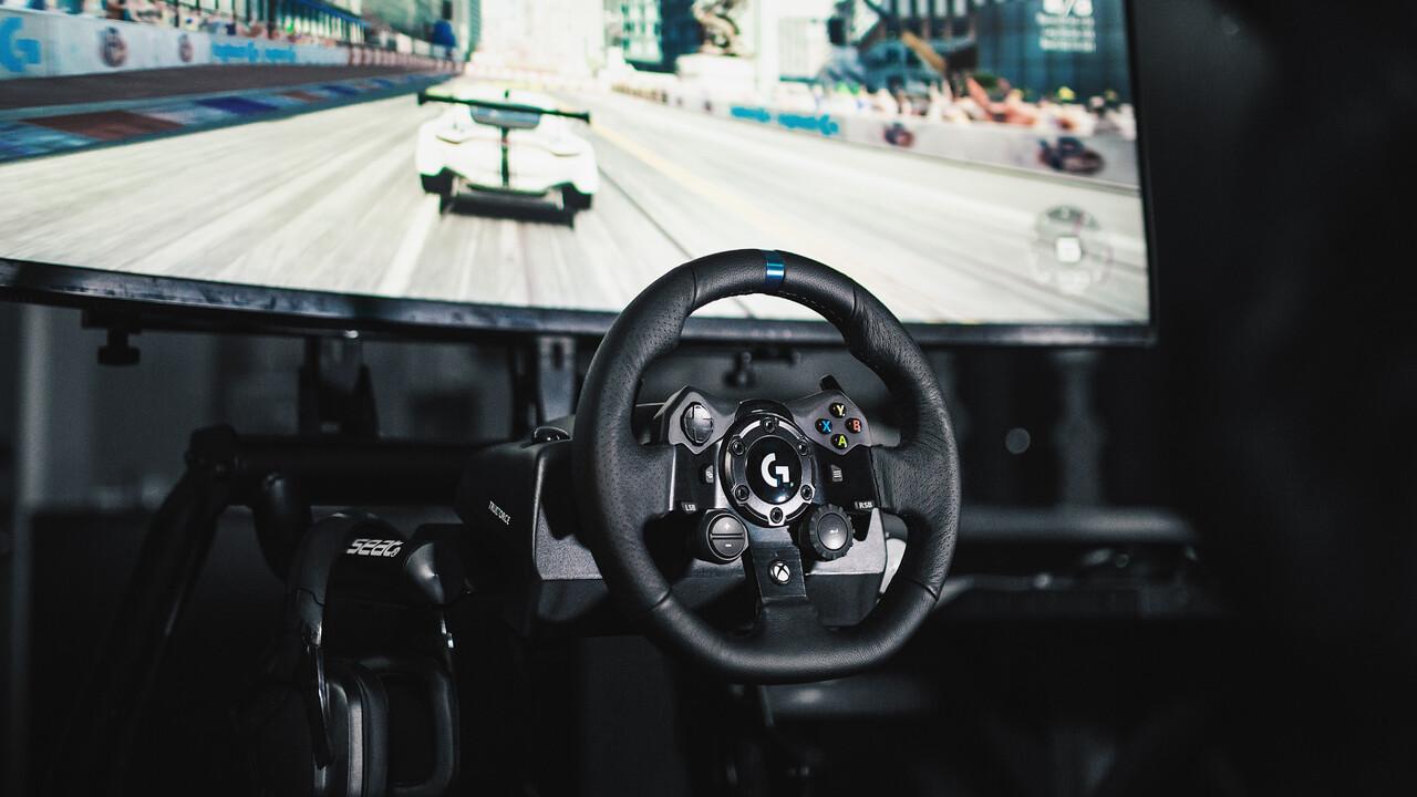 Logitech G923 Trueforce: Lenkrad verbessert Force Feedback mit neuem SDK
