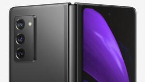 Galaxy Z Fold 2: Samsung setzt auf größere Displays mit weniger Rand