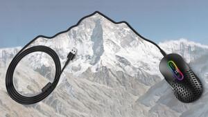 Leichte Spiele-Maus: Mountain Makalu 67 spart Gewicht mit Rippen-Löchern