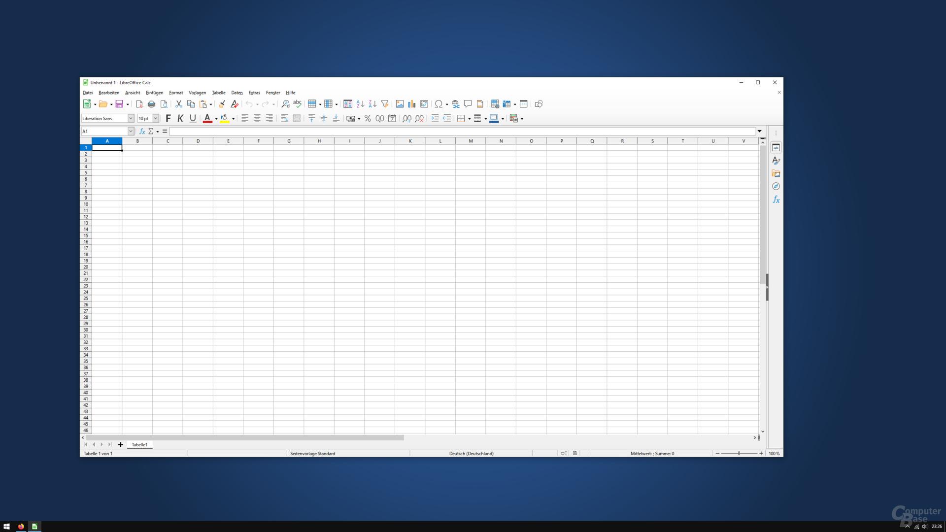 LibreOffice 7.0.0.3 – Calc