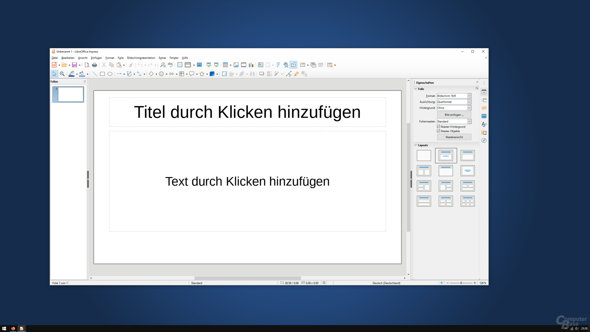 LibreOffice 7.0.0.3 – Impress