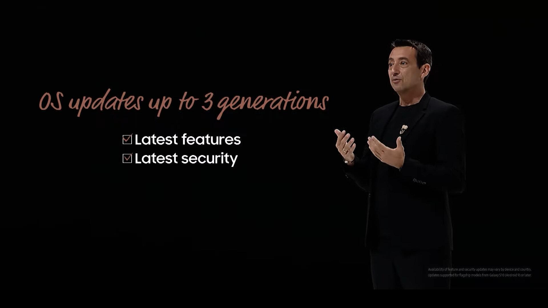 Samsung verspricht längere Updates von (bis zu) drei Android-Generationen