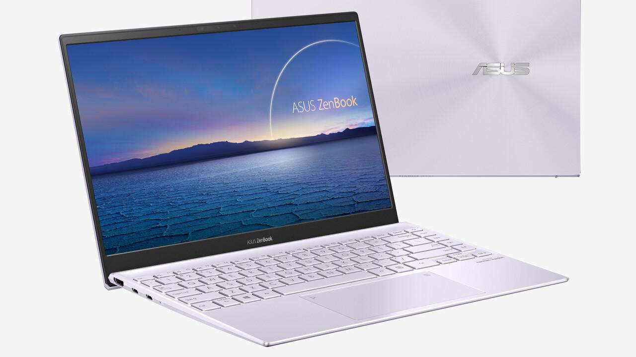 Asus ZenBook 13 und 14: Notebooks mit Ice Lake-U und Renoir erreichen den Handel