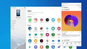 Windows 10: Insider können Android-Apps auf den PC spiegeln