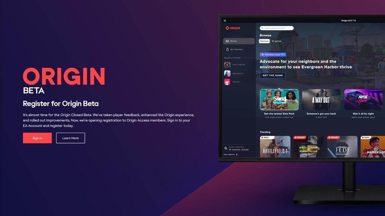 Origin Beta: EA überarbeitet seine Gaming-Plattform