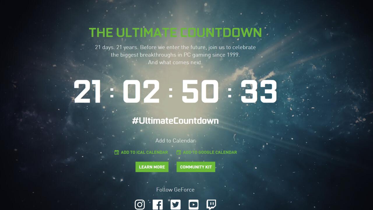 Nvidia Gaming Ampere: GeForce Special Event für den 1. September angekündigt