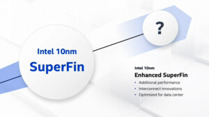 Intel-Fertigung in 10 nm: SuperFin und Enhanced SuperFin löst Plus Plus Plus ab