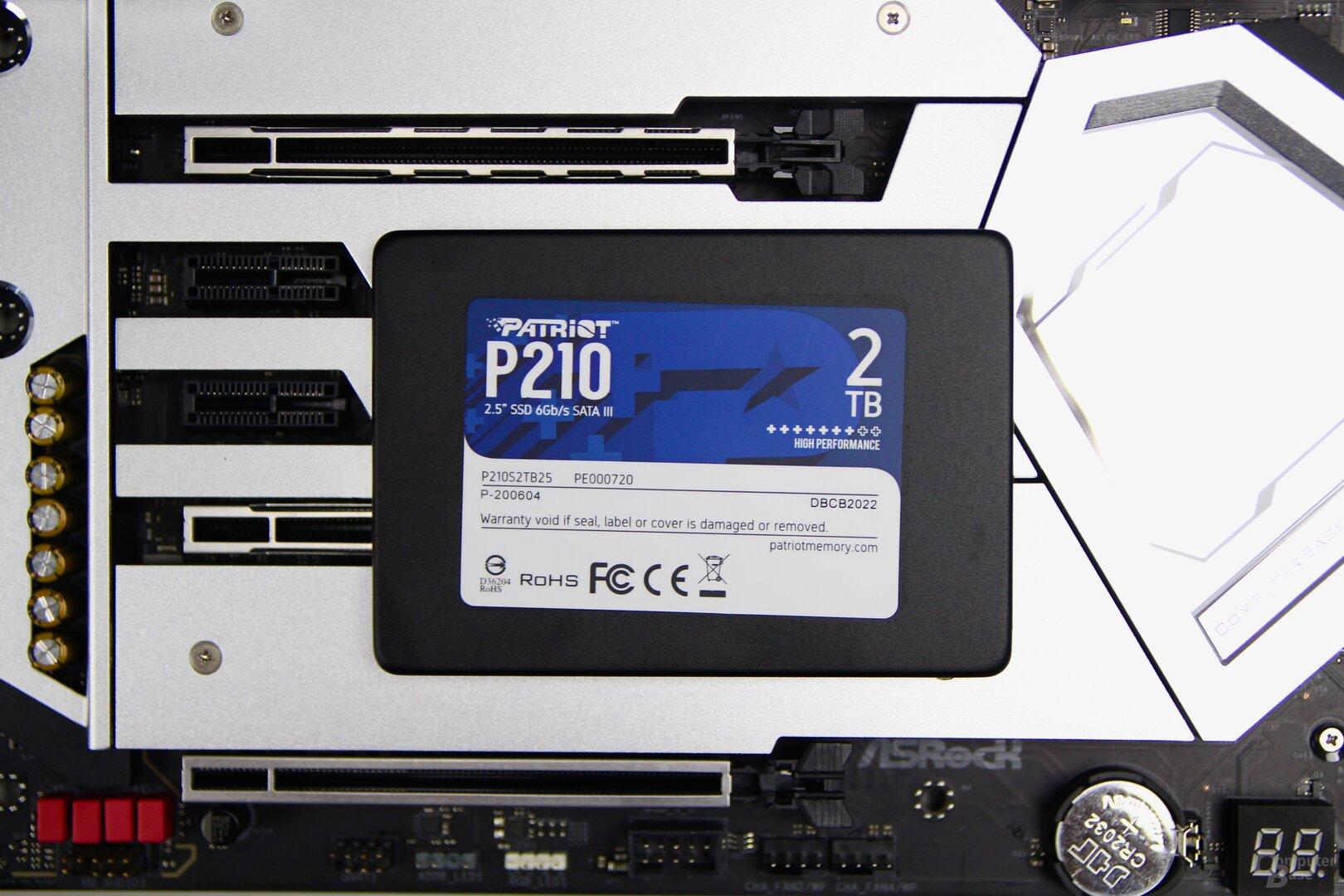 Die Patriot P210 SSD mit 2 TB im Test