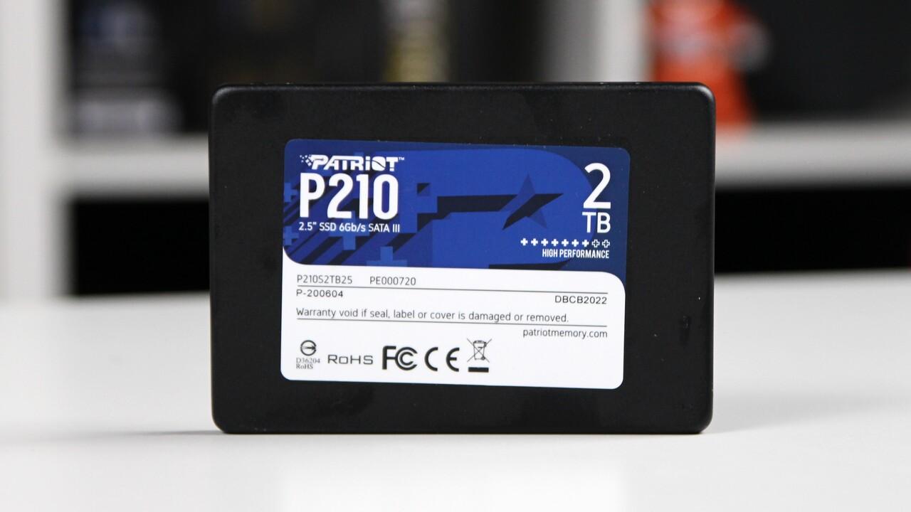 Patriot P210 SSD im Test: Der günstige Griff ins Ungewisse