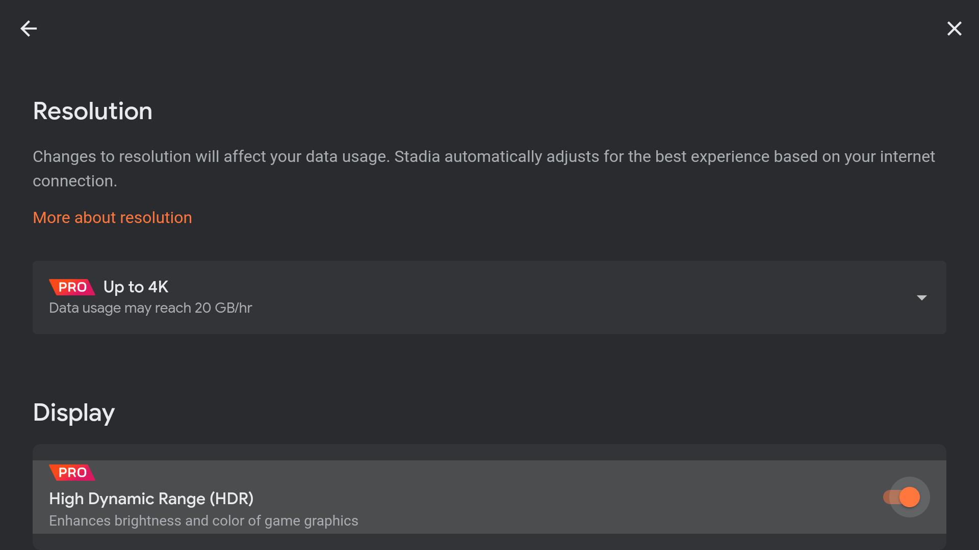 Google optional 4K und HDR für das Pro-Abo und Android TV