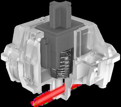 Corsairs OPX-Taster arbeiten mit einer Lichtschranke