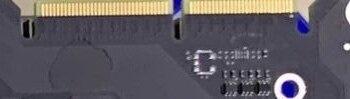 Foto eines angeblichen PCBs der GeForce RTX 3090