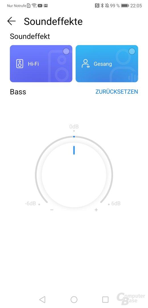 Huawei Sound X in der AI-Life-App
