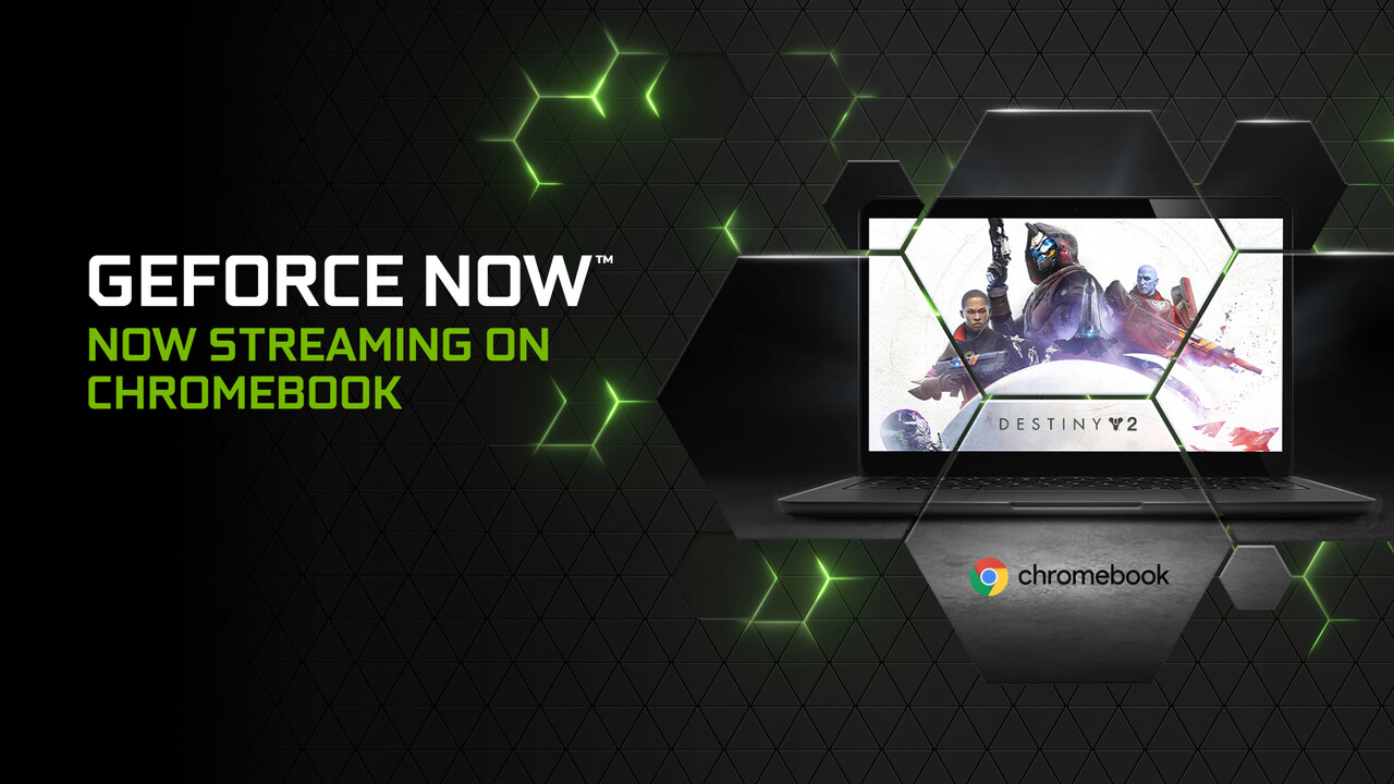Spiele-Streaming: GeForce Now funktioniert nun auch auf Chromebooks