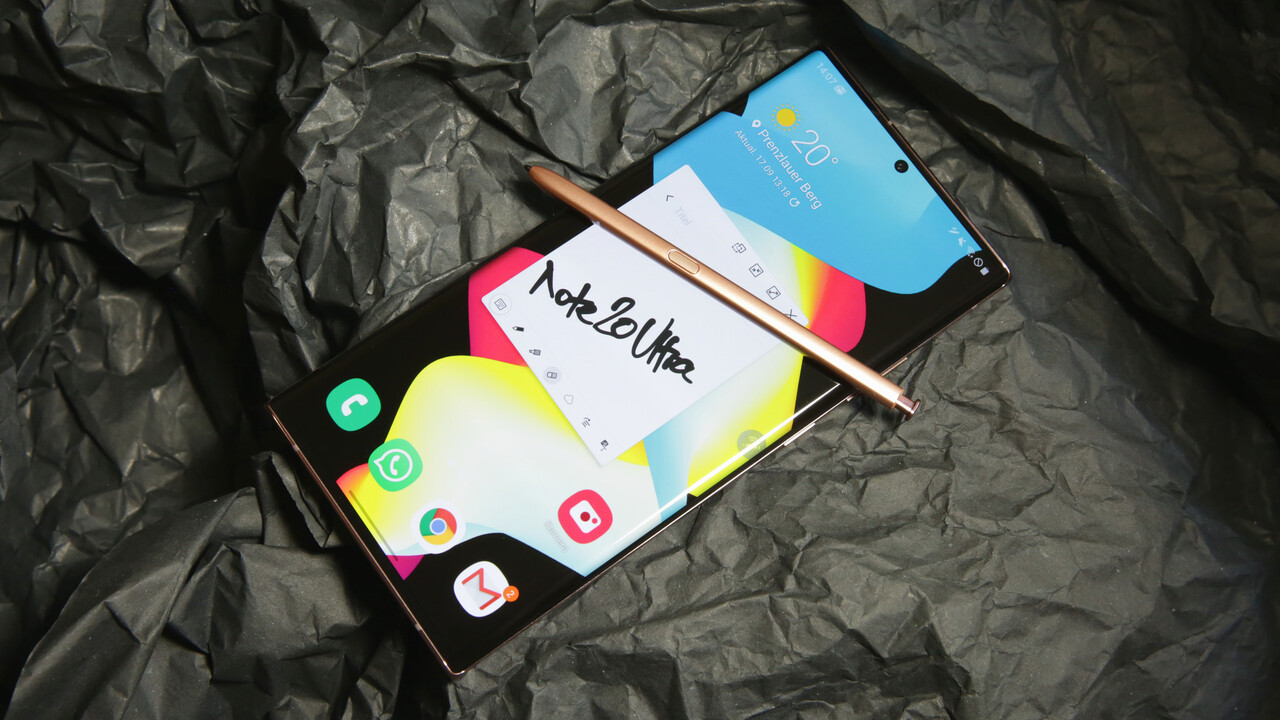 Galaxy Note 20 Ultra im Test: Der S Pen macht den größten Sprung