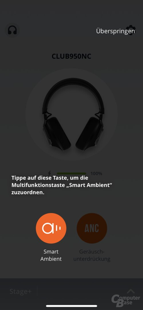 My JBL Headphones mit dem JBL Club 950NC