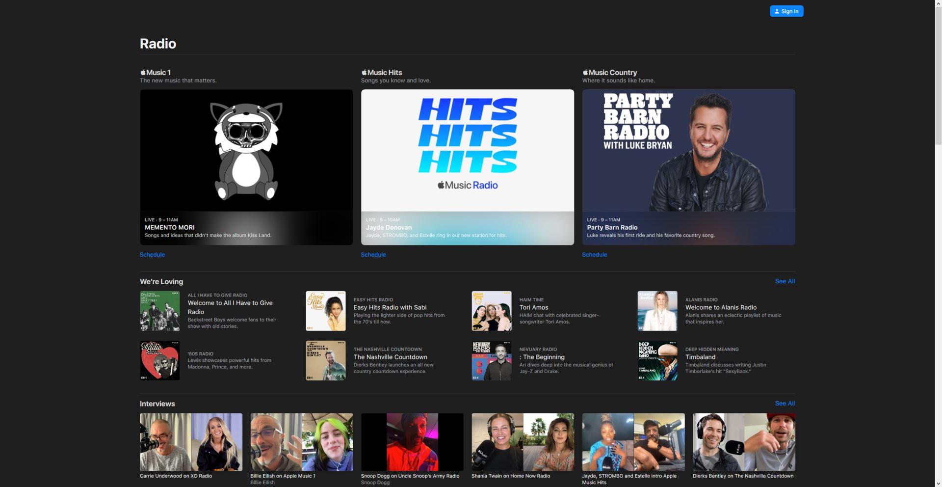 Apple Music Radio umfasst ab sofort drei Live-Radiosender