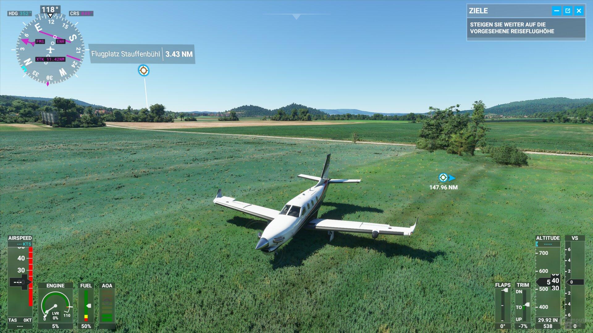 Flight Simulator im Test