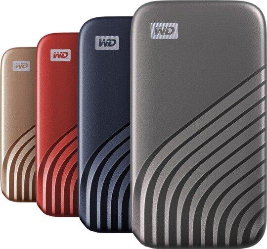 Die neue My Passport SSD gibt es vorerst nur in Grau