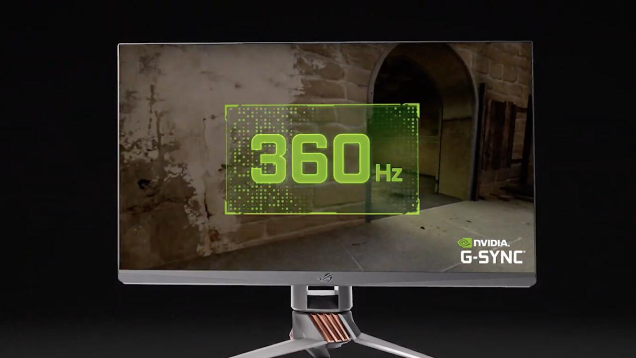 ROG Swift PG259Q: 360-Hz-Monitor von Asus hat einen Namen