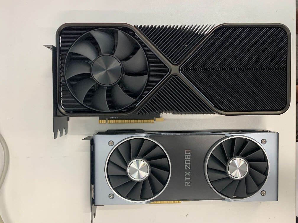 Vermutlicher Kühler der GeForce RTX 3090 FE
