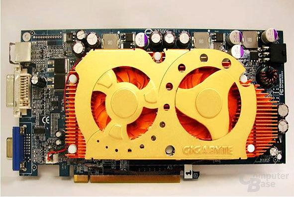 Gigabyte-Grafikkarte mit zwei 6600-GT-GPUs